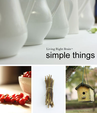 Celebrating the Simple Things